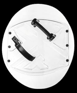 Circle police shield ASC-57-60-L